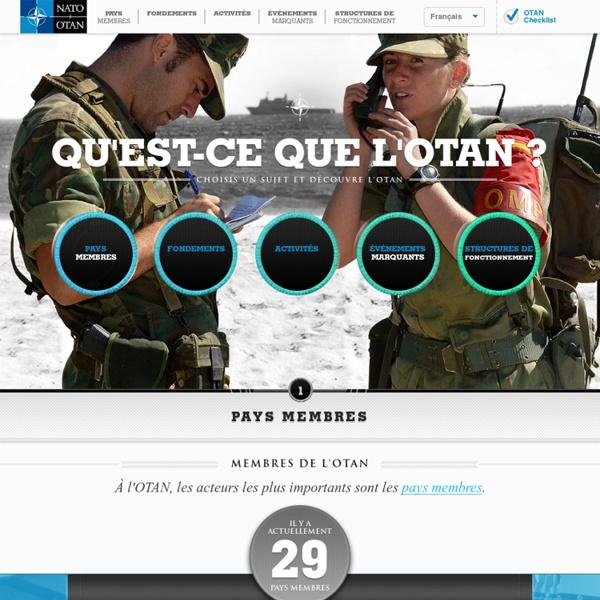 Qu'est-ce que l'OTAN ?