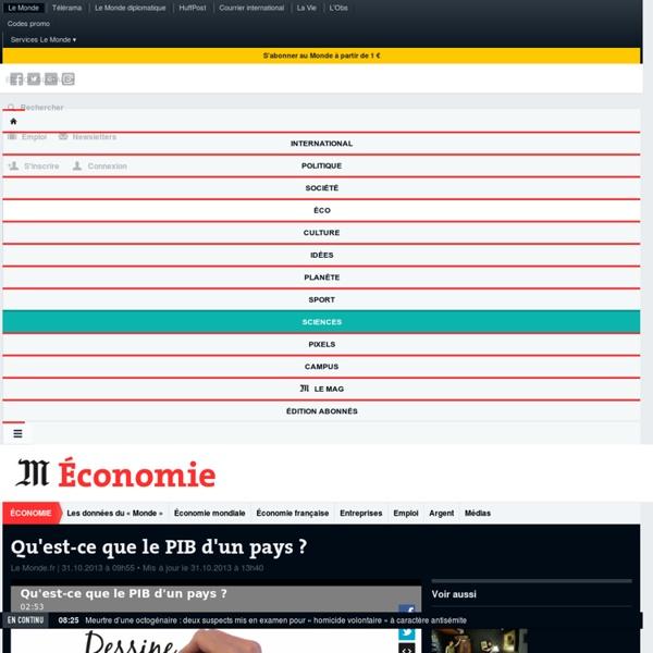 Qu'est-ce que le PIB d'un pays ?