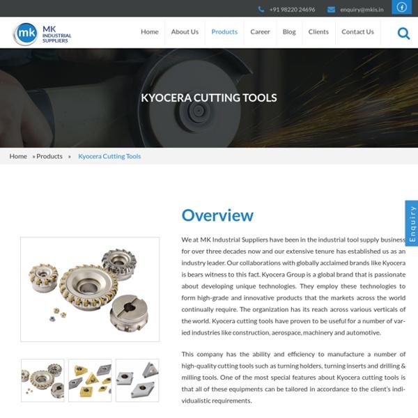 High-Quality Kyocera Cutting Tools