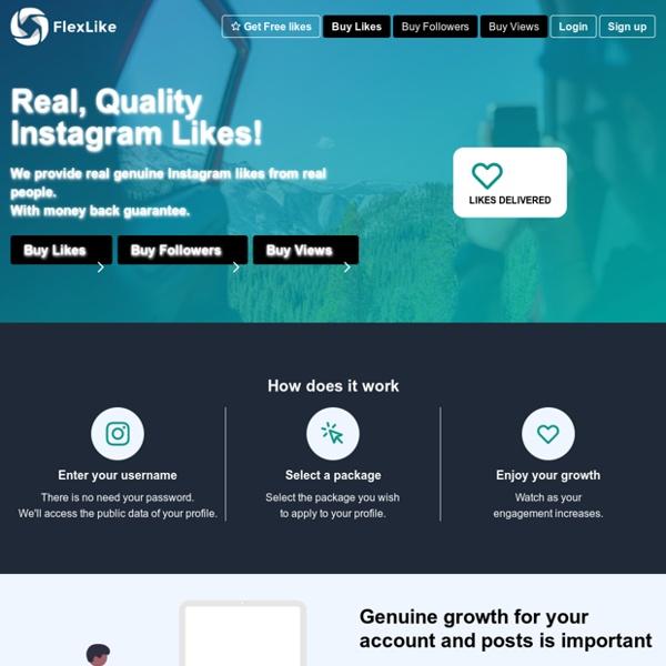 Flexlike - Buy Real Quality Instagram Likes