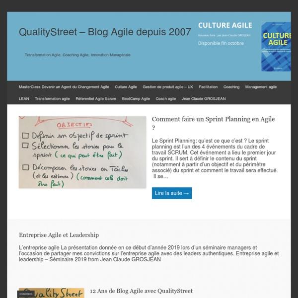 Coaching d'Organisation, Coaching Agile, Management Agile & Lean, UX