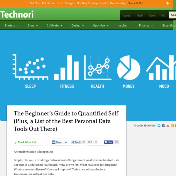 Quantified Self: The Ultimate Beginner's Guideand List of the Best Personal Data Tools Out There)