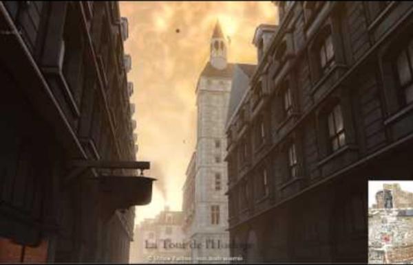 Visite de Paris au XVIIIe siècle (quartier du Grand Châtelet)