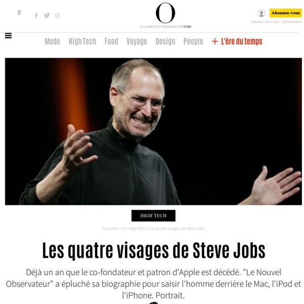Les quatre visages de Steve Jobs- 5 octobre 2012 -