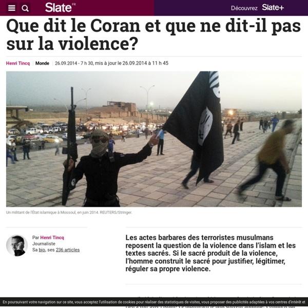 Le Coran est-il responsable des violences islamistes?