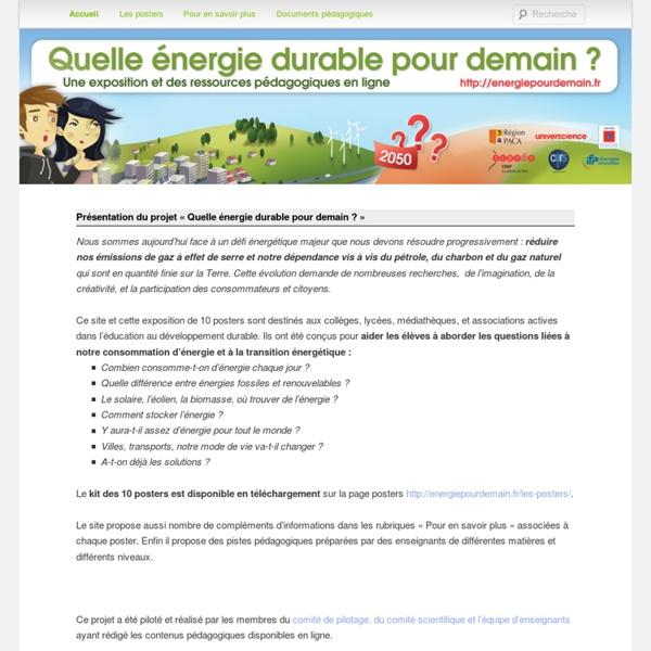 Quelle énergie durable pour demain ?