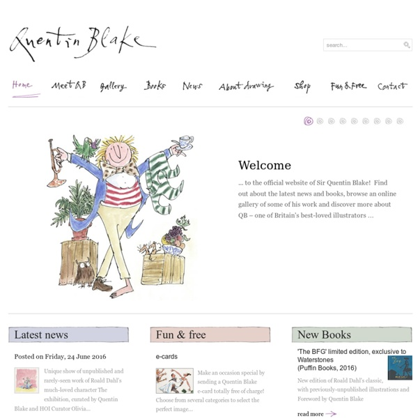 Quentin Blake - Official Home Page
