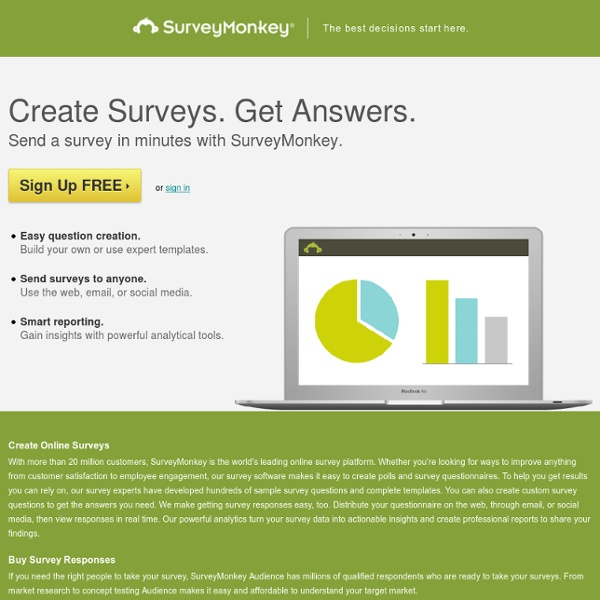 Thank you! Create Your Own Online Survey Now!