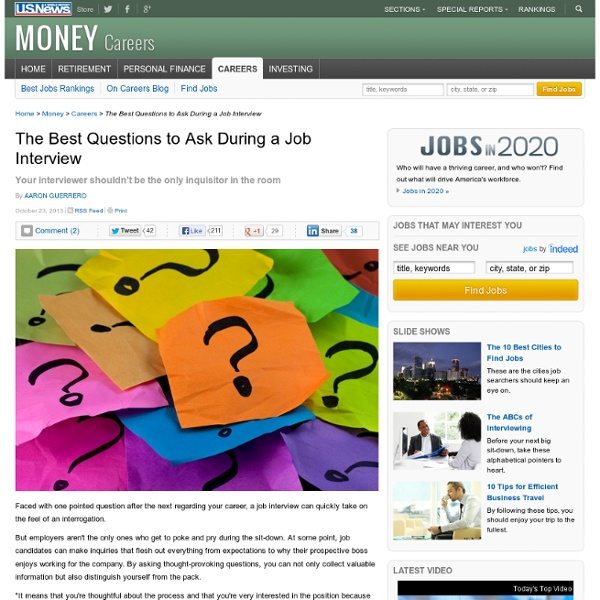 Best Job Interview Questions