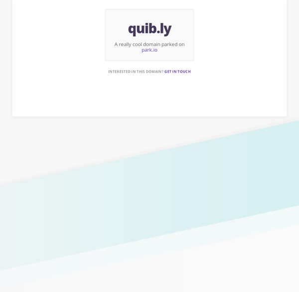 Quib.ly - a community of parents raising happy kids in a connected world - Quibly