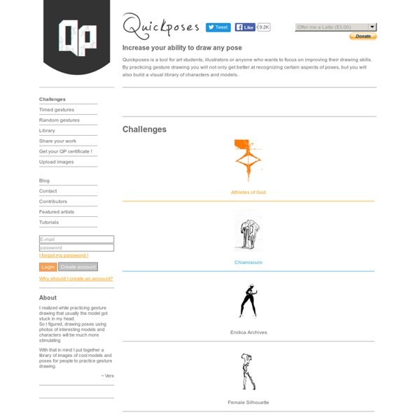 Quickposes: pose generator for figure & gesture drawing practice