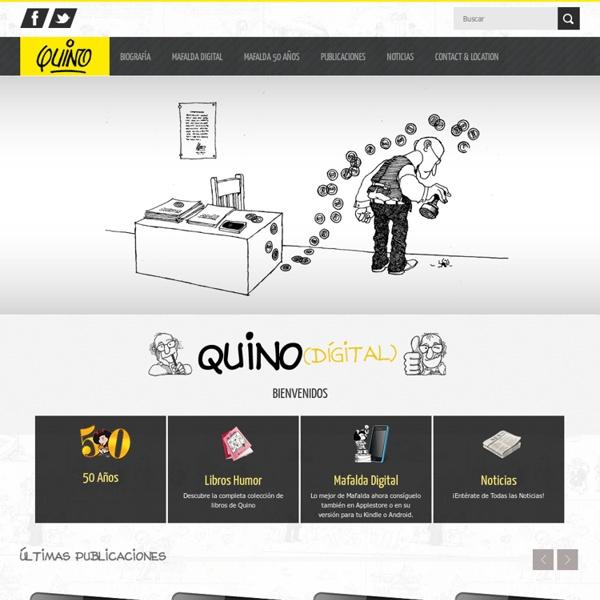 Quino. Sitio oficial de Quino