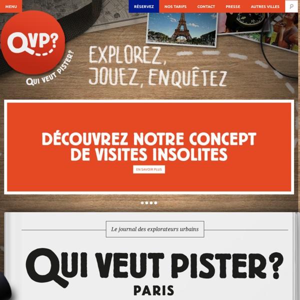 Découvrez Paris au fil d'un jeu de piste et d'une chasse au trésor