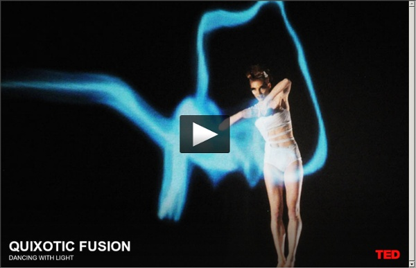 Quixotic Fusion: Dancing with light
