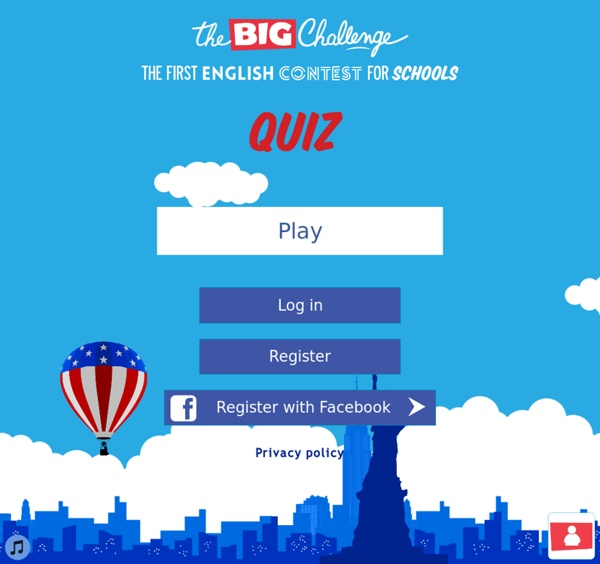 THE BIG CHALLENGE - Site officiel