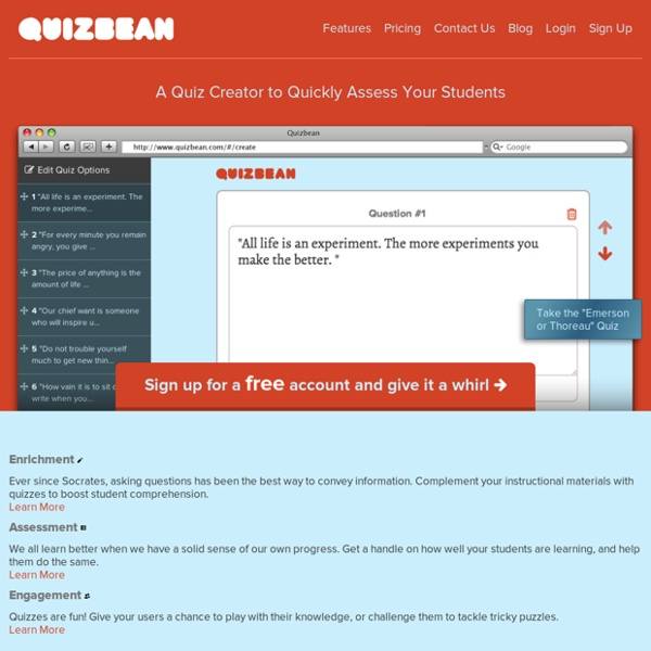Quickly Create Online Quizzes For Free