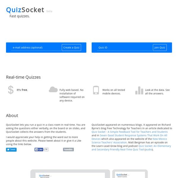 Quiz Socket