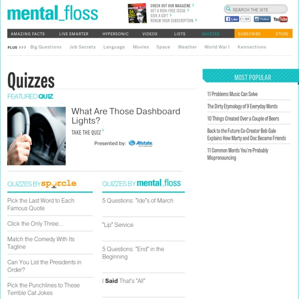 Take the mental_floss geography challenge