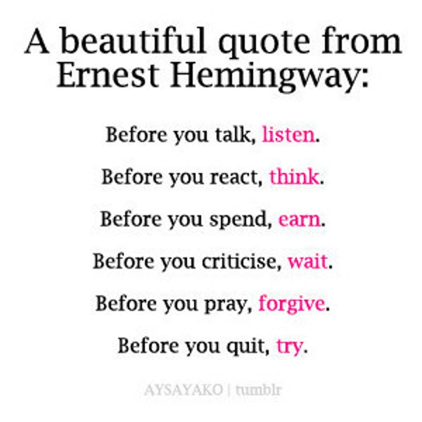 if you re looking for messages try west by ernest hemingway like success