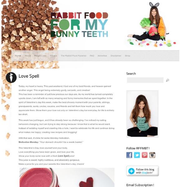 Rabbit Food For My Bunny Teeth