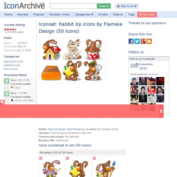 Rabbit Xp Iconset (50 icons)