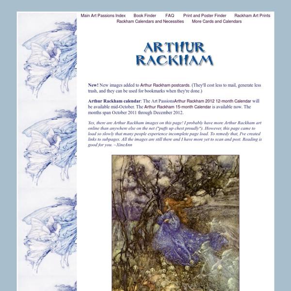 Rackham Fairy and Fairy Tale Art (Arthur Rackham)