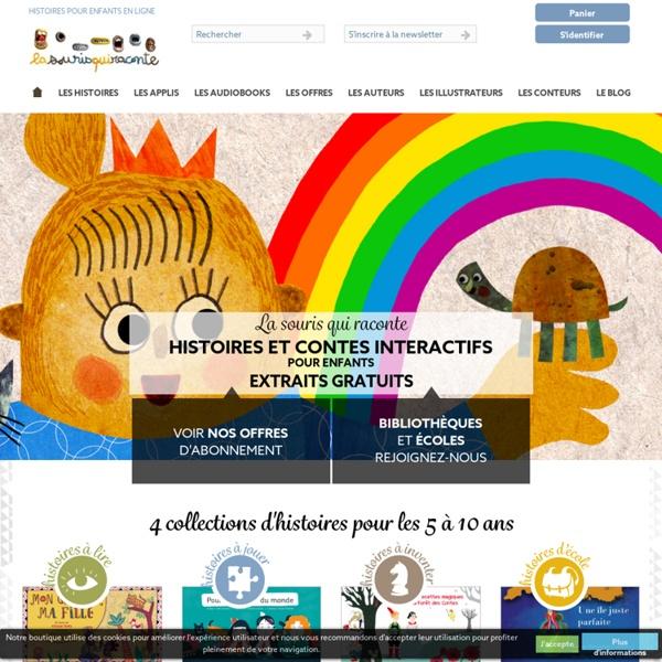 La Souris Qui Raconte propose des histoires et contes en ligne pour enfant