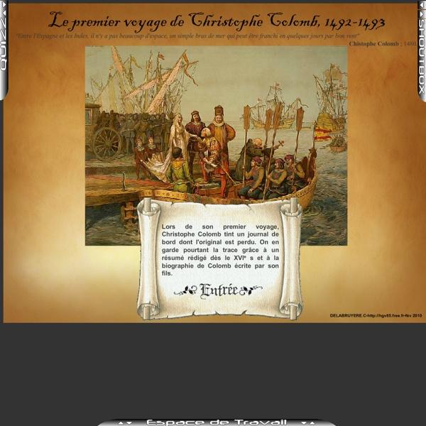 Le premier voyage de Christophe Colomb, 1492-1493