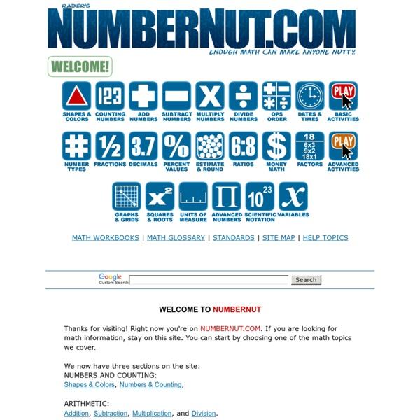 Rader's NUMBERNUT.COM