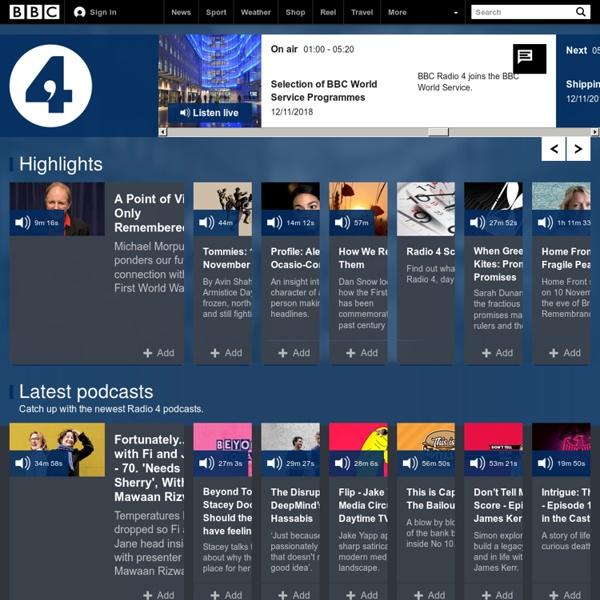 Radio 4 - Home
