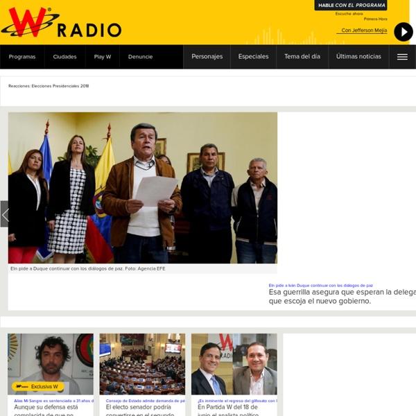 Las voces que son noticia en Colombia y el mundo