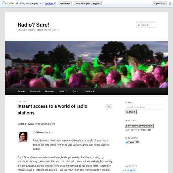 Radio Sure - Free Internet Radio Player