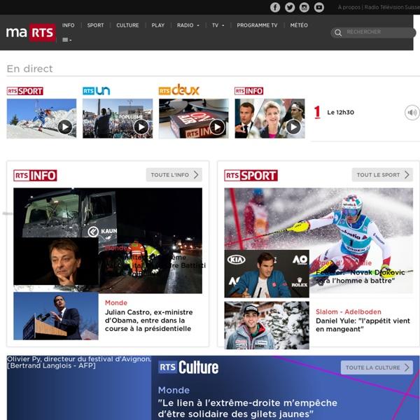 Rts.ch - Radio Télévision Suisse