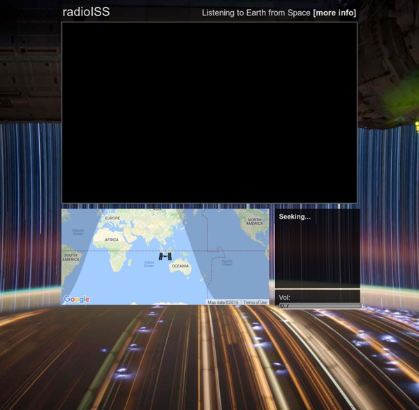 RadioISS: Listening to Earth from Space