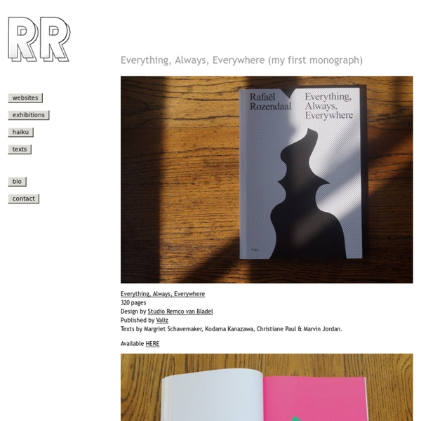 Rafaël Rozendaal – Official Website