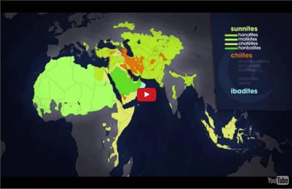 Le dessous des cartes Arte _Islam les raisons de l'opposition Sunnites / Chiites (1/2)