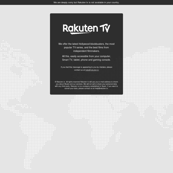 Rakuten TV - Votre cinéma à la maison