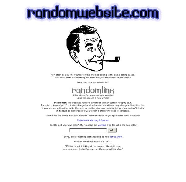 Random website dot com