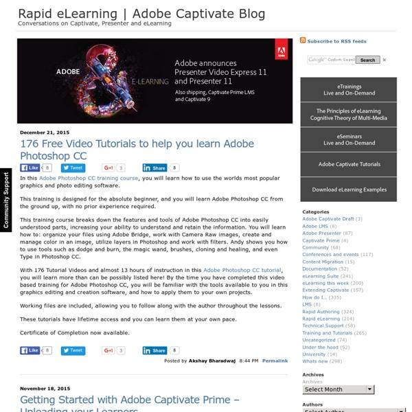 Rapid eLearning