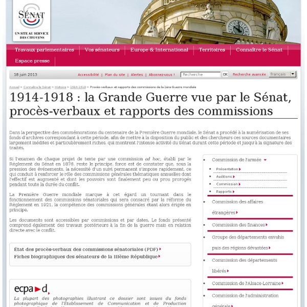 Archives du Sénat