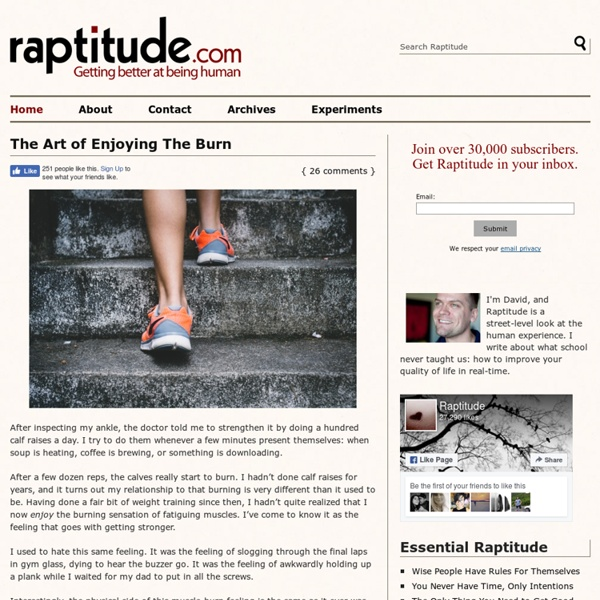 Raptitude.com – Getting Better at Being Human