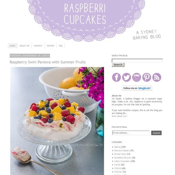 Raspberri cupcakes