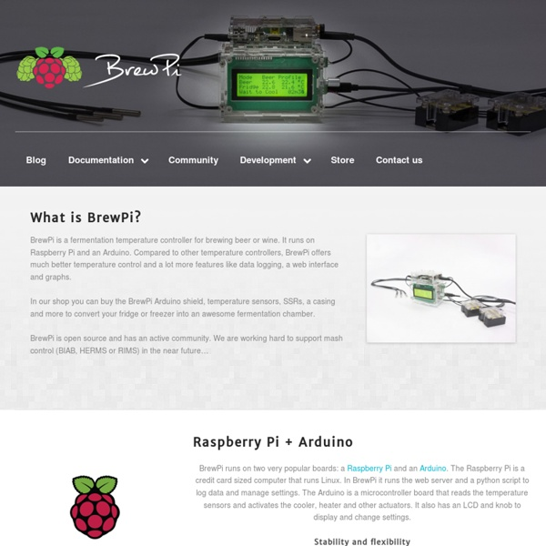The Raspberry Pi Brewing Controller