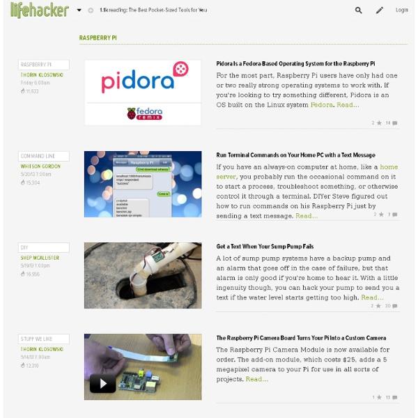 Raspberry pi News, Videos, Reviews and Gossip - Lifehacker