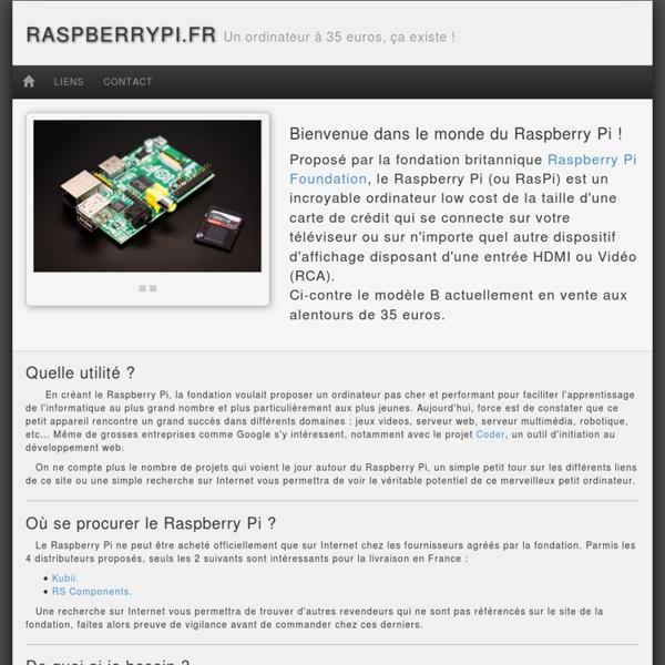 RaspberryPi.fr