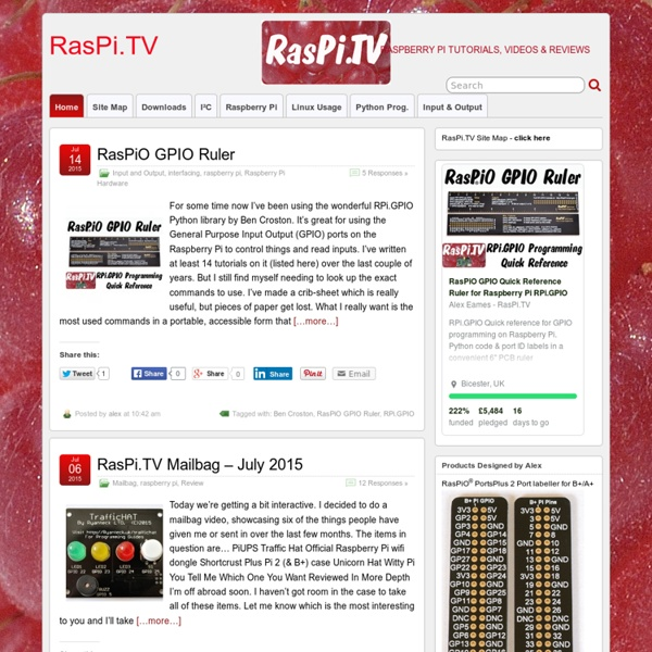 RasPi TV | Pearltrees