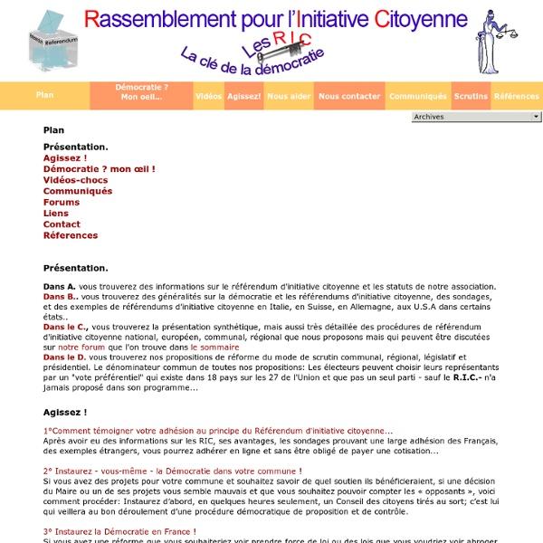 Rassemblement pour l'Initiative Citoyenne
