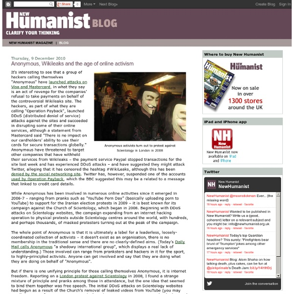 New Humanist (Rationalist Association) - discussing humanism, rationalism, atheism and free thought