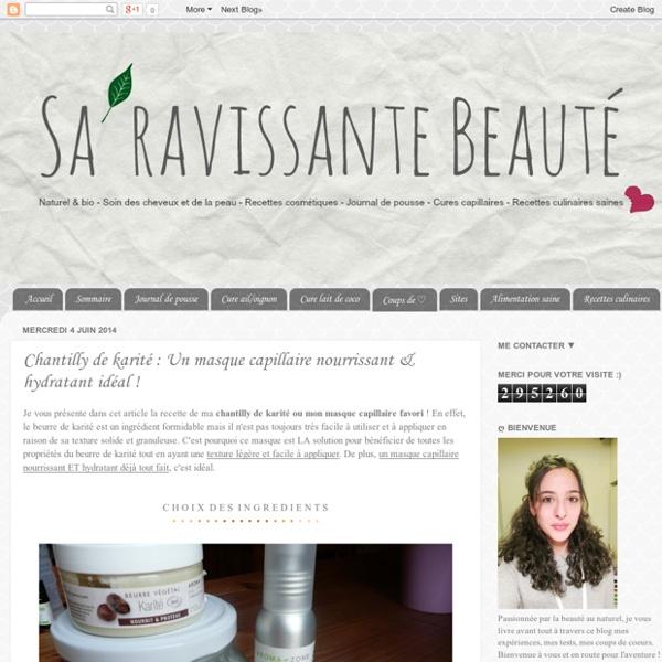 Chantilly de karité : Un masque capillaire nourrissant & hydratant idéal !