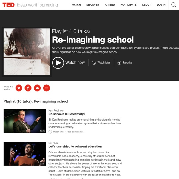 Re-imagining school